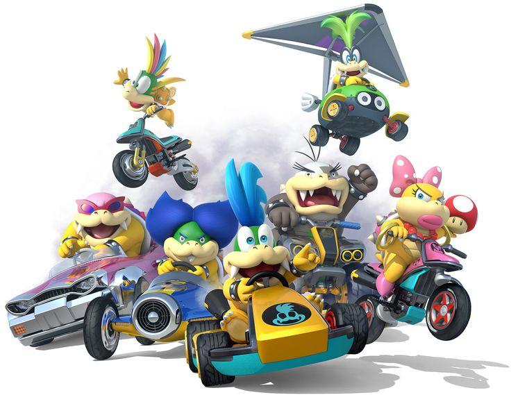 Koopalings   Mario Kart 8