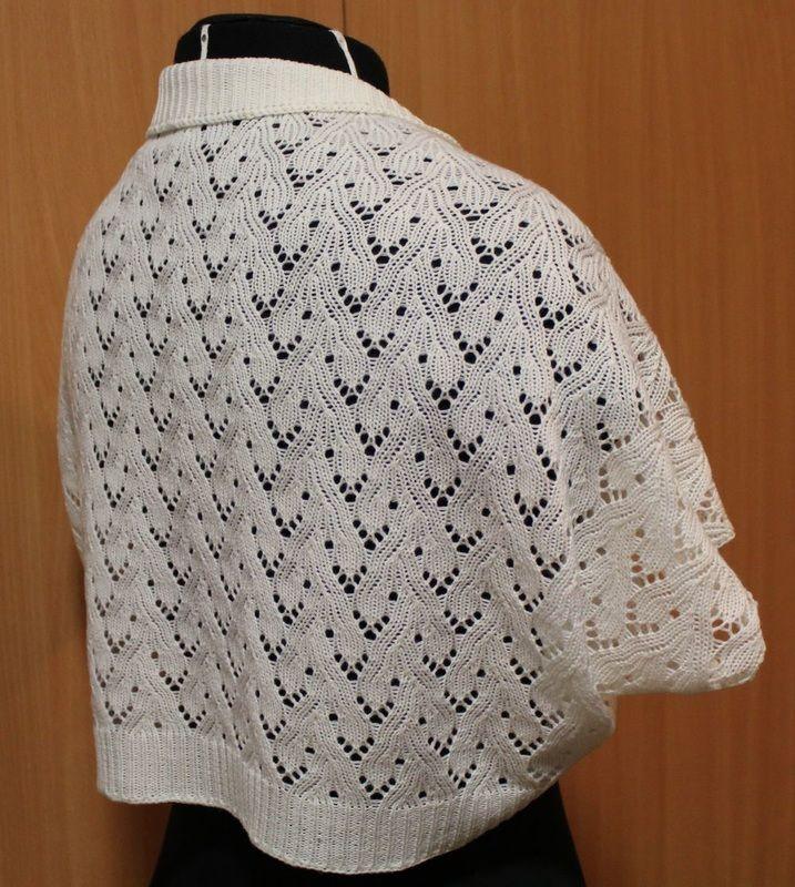 Bolero, pitsi, merinovilla, tilauksesta, neuleita, neuloa, neulominen, lace, merino wool, customized, knitwear, knit, knitting