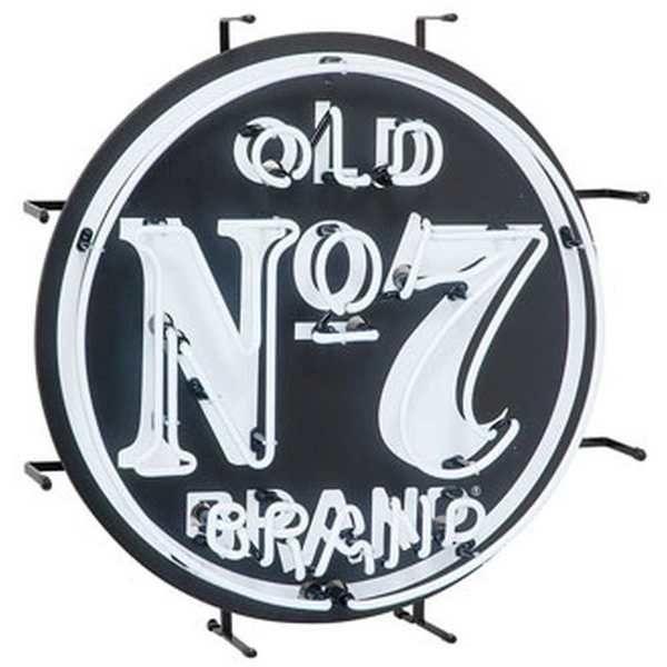 """Jack Daniel's Old No. 7 Neon 24"""""""" Bar Sign, JD-35400"""