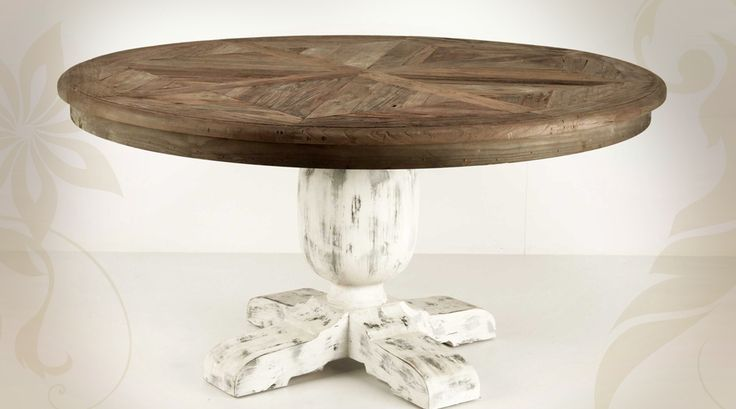 1000 ideas about table ronde en bois on pinterest round - Table ronde pied central bois ...
