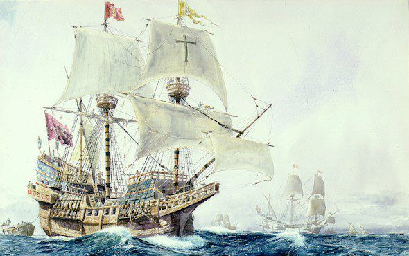 """The Portuguese In The Age Of Discovery C 1340 1665 By: Portuguese Galleon """"São João"""""""