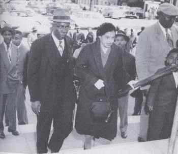 Raymond and Rosa Parks - Rosa's husband.