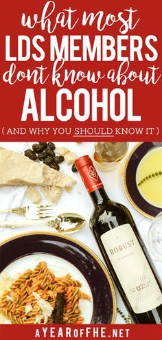 A Year of FHE // Is cooking with alcohol against the Word of Wisdom? Important facts that every LDS member should know about alcohol and why it matters. #lds #cooking #alcohol