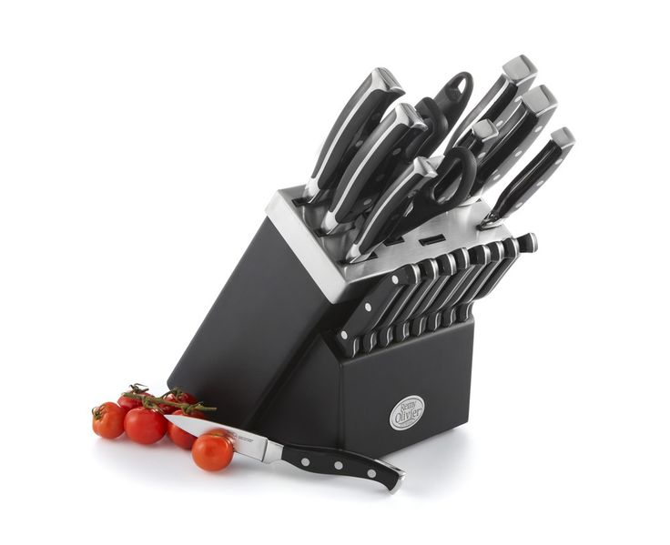 Ombre Knife Set with Wooden Block, 19 pc - Knives - Kitchen & Food Prep | Stokes Inc. Canada's Online Kitchen Store