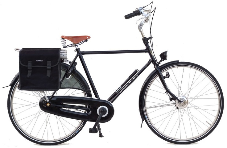 Vélo électrique hollandais Amsterdamer - Street high premium.