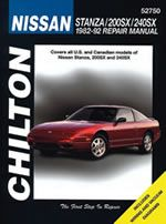 Nissan Stanza 200SX & 240SX Chilton Manual 1982-1992: Total Car Care is the most complete step-by-step… #CarParts #AutoParts #TruckParts