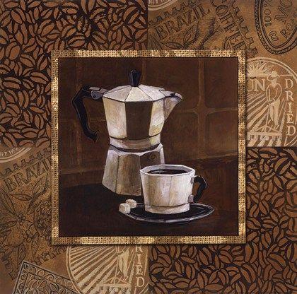 Coffee IV by Gregory Gorham art print