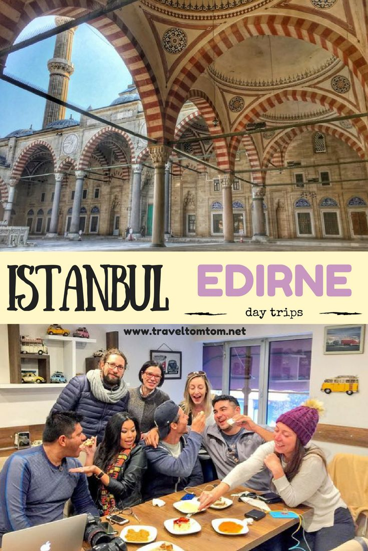 Looking for things to do around Istanbul? These day trips from Istanbul are well worth taking the trip. Drive towards the Greek border and discover Edirne a sleepy but beautiful town with the most amazing mosques I have ever seen. Climb up to the top of the minaret and do a wine tasting in one of the vineyards in the surrounding countryside.