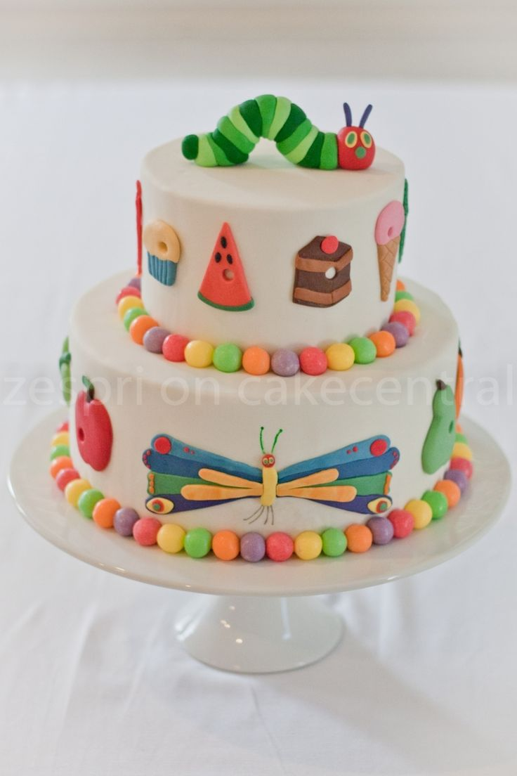 Hungry Caterpillar Party Hungry Caterpillar Party For my son's third birthday party. I made food to represent everything the hungry caterpillar ate (he ate all... #top-cakes #watermelon #cakecentral