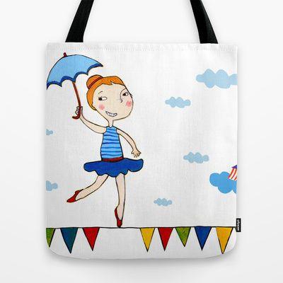 CIRCUS Tote Bag by Giorgia Atzeni - $22.00
