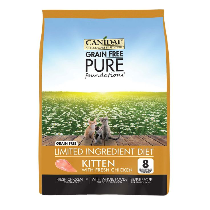 CANIDAE Grain Free PURE Foundations Kitten Formula Made