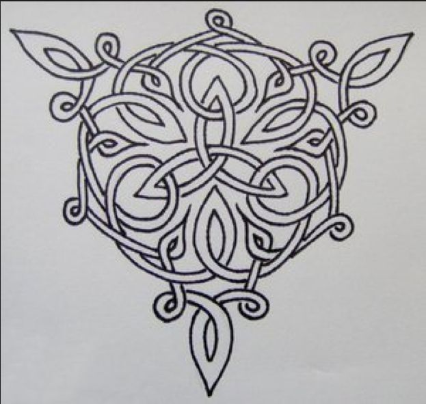 Triskeles ... This would be a simple yet gorgeous tattoo