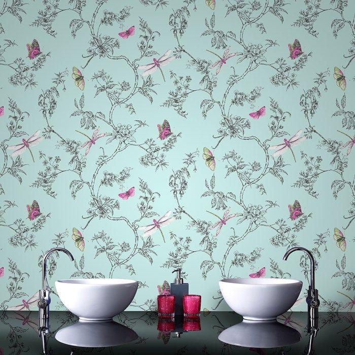 Best 25+ Papier Peint Bleu Canard Ideas On Pinterest