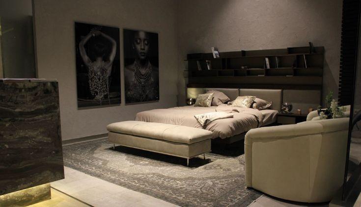 Domino #bed #bedroom #design #interiordesign #luxury