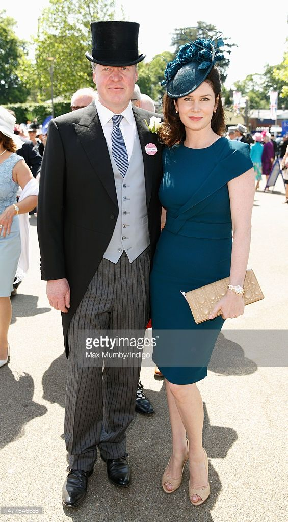 Earl Charles Spencer and Countess Karen Spencer attend day 3, Ladies Day, of Royal Ascot at Ascot Racecourse on June 18, 2015 in Ascot, England.