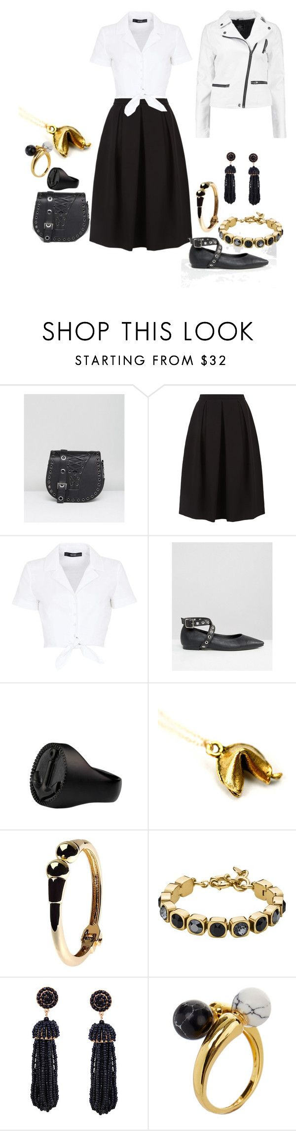 """""""Untitled #1226"""" by ayeeeitsfatso on Polyvore featuring Marc, Monsoon, Hallhuber, Daisy Street, Adele Marie, Dyrberg/Kern, Humble Chic, Noir Jewelry and Boohoo"""