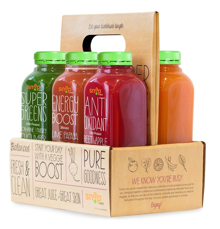 Snap Kitchen - Cold Pressed Juices
