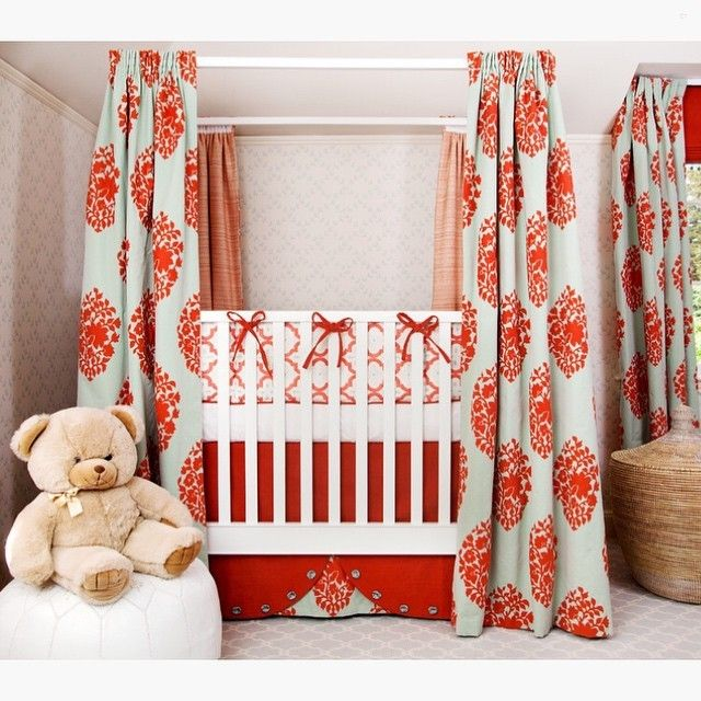 A lovely custom designed nurseryCredit to House Of Ruby Interior Design... - Home Decor For Kids And Interior Design Ideas for Children, Toddler Room Ideas For Boys And Girls