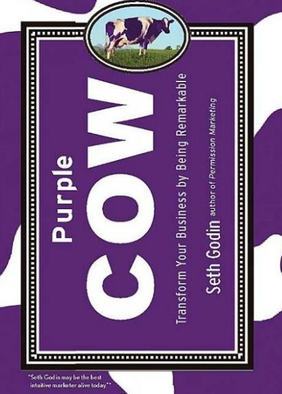 5 Key Reads for Would-be Entrepreneurs and Startupers | Purple cow by Seth Godin #Marketing #Books