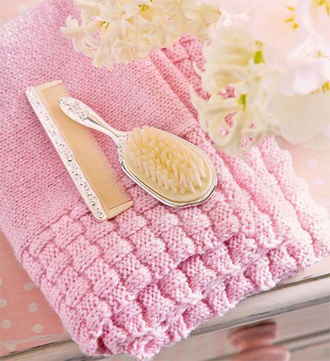 Knit Baby Blanket ~ Free Pattern
