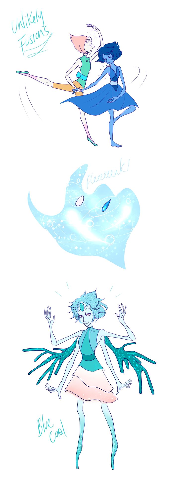 Unlikely Fusions - Blue Coral by 2Mummu.deviantart.com on @DeviantArt