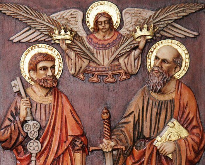 A Igreja Católica celebra a santidade de vida de São Pedro e São Paulo apóstolos