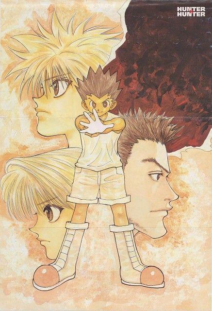 Yoshihiro Togashi, Hunter x Hunter, Leorio , Killua Zaoldyeck, Gon Freecss