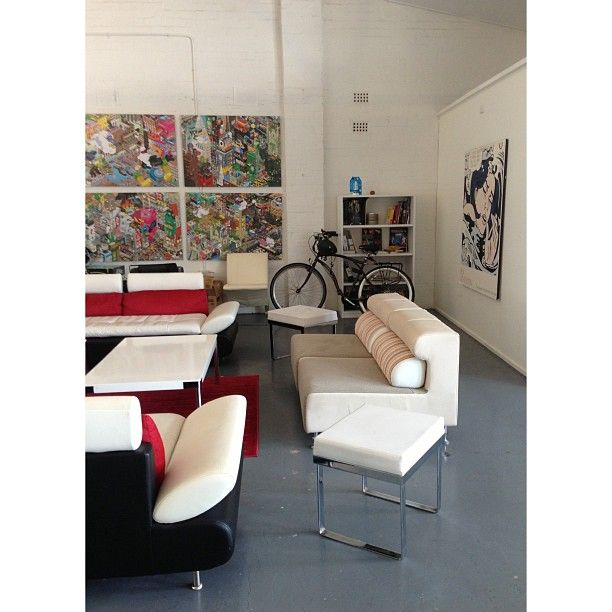 One of the Studio's chill out spots. http://instagram.com/p/Z1tTXZDar0/