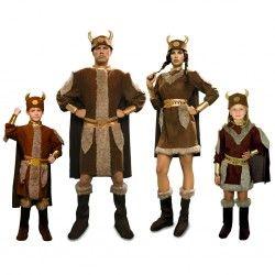 Disfraz de Vikinga perfecto para disfraces para grupos de carnaval disponible en versión infantil. Si quieres comprar disfraces online en mercadisfraces encontraras el mayor surtido en disfraces originales y baratos para tus fiestas. Envíos 24 horas