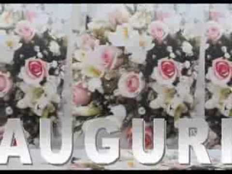 """BUON 25° ANNIVERSARIO DI MATRIMONIO""""AUGURI""""FELICE VENTICINQUESIMO ANNIVERSARIO DI MATRIMONIO"""" - YouTube"""