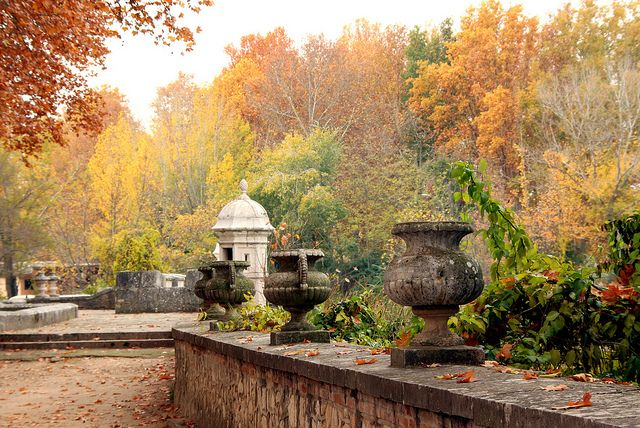 Jardines de aranjuez en oto o madrid jardines rom nticos for Jardines romanticos