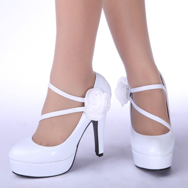 17 Best ideas about White High Heels on Pinterest