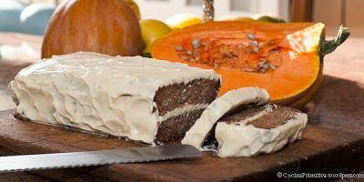 Tarta de calabaza Paleo del blog  Cocina Primitiva