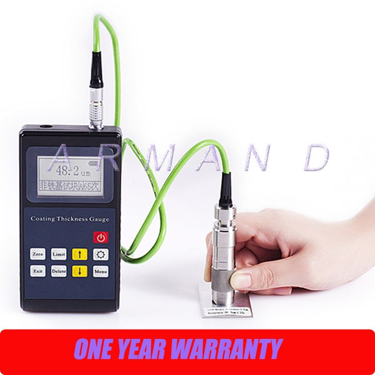 Coating Thickness Tester Leeb221 Portable Eddy current Paint Thickness Gauge