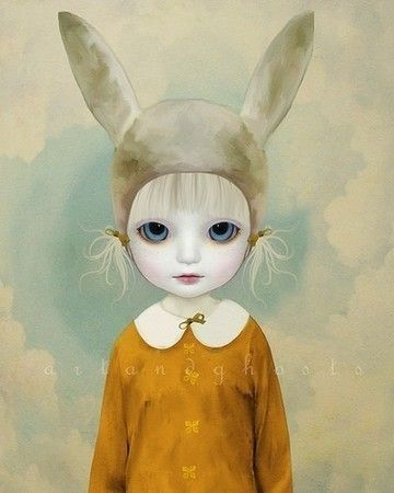 Etranges fillettes [Art & Ghosts]