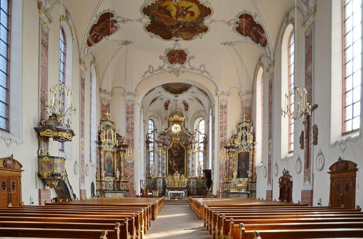 Kirche St. Bartholomäus Ettenheim, Germany