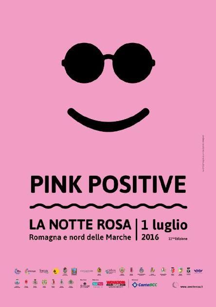 «Розовая ночь» – «La Notte Rosa». Римини – город, живущий энергией лета. Как же начинается лето, на самом шумном курорте в Италии?  Все Адриатическое побережье (110 км) Эмилия – Романья, окрашивается в насыщенный розовый цвет и становится огромной праздничной ареной.  Обрисовать его можно следующим образом: это 110 км взрыва огней, звуков, изображений, цветов. Концертные шоу, спектакли, инсталляции, выставки, шоу, пейзажи, анимации.  Розовая ночь – это грандиозный и масштабный праздник…