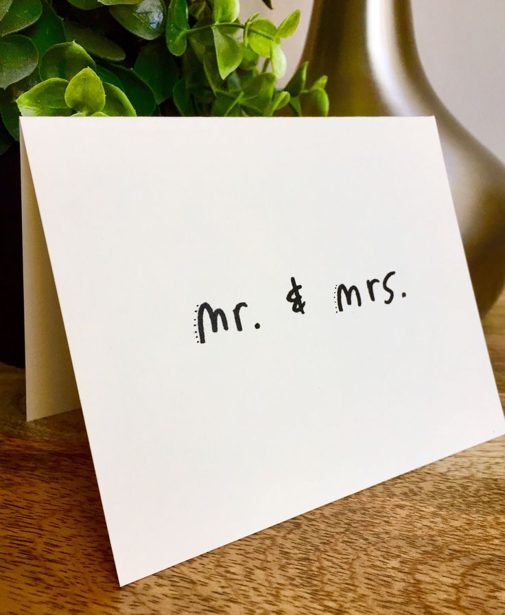 free online printable wedding thank you cards%0A Mr  And Mrs  thank you card  wedding thank you  Hand designed pattern
