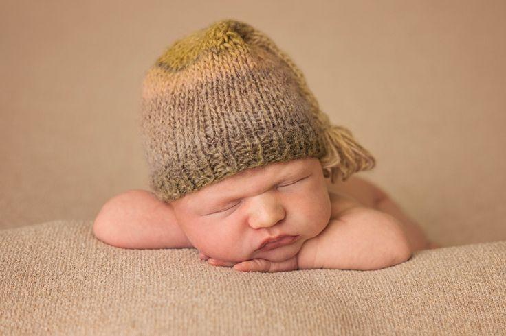 little boy is a hat <3
