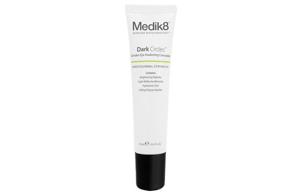 Conceal and brighten tired skin under the eyes while treating the cause with the new and improved Medik8 Dark Circles. Added light-reflective pigments illuminate under-eye darkness for a fresher, more wide awake look.
