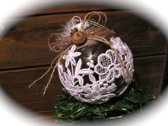 Handmade Christmas ornament . by Mydaisy2000 on Etsy, $23.00