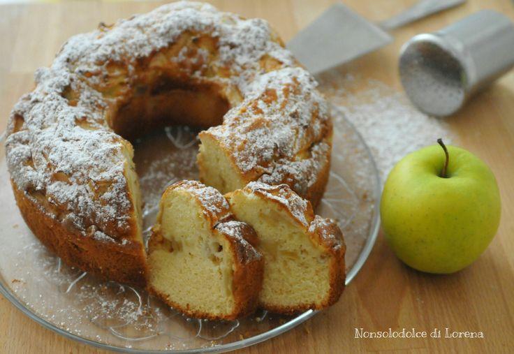 Ciambellone semplice alle mele