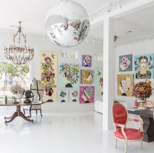 Longshore Gallery, New Orleans Driscoll Design U0026 Decoration
