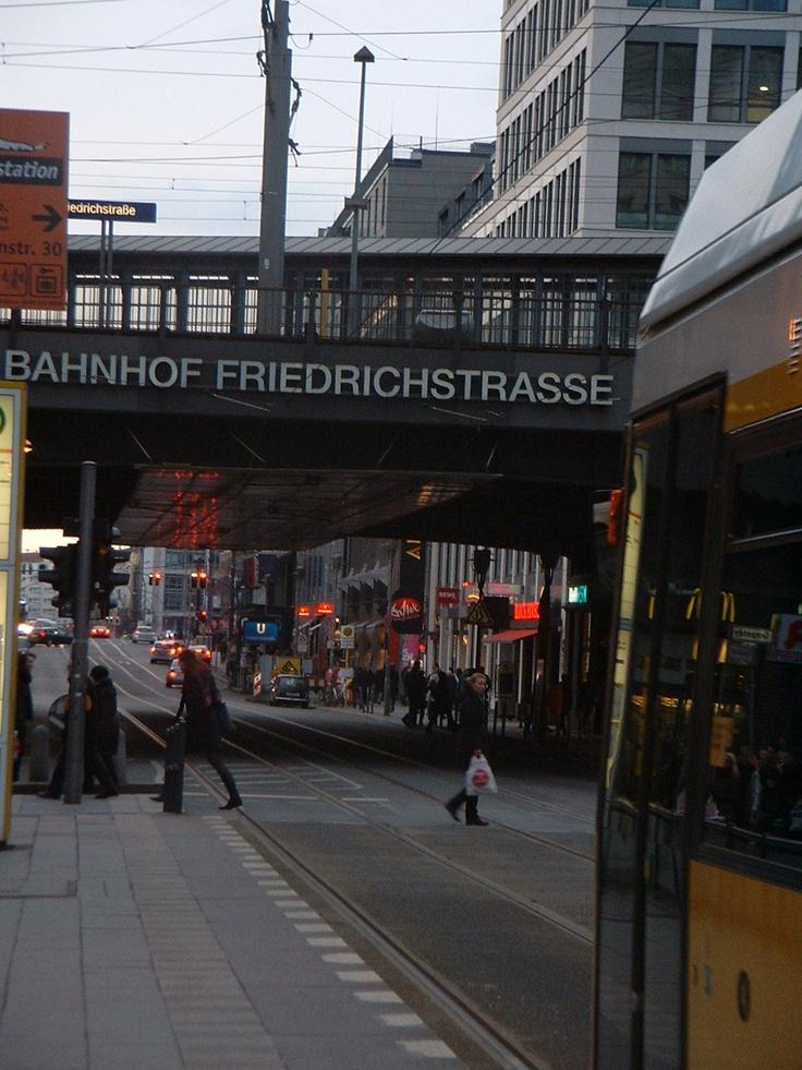 Friedrichstrasse, Mitte, Berlin ;) x1000 Alemania, Europa