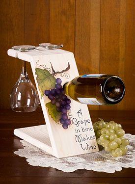 Porta vinos y copas