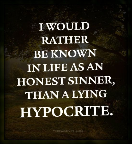 Hypocrite Quotes on Pinterest | Toxic Family Quotes, Intimidation ... via Relatably.com