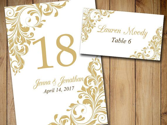 wedding table template