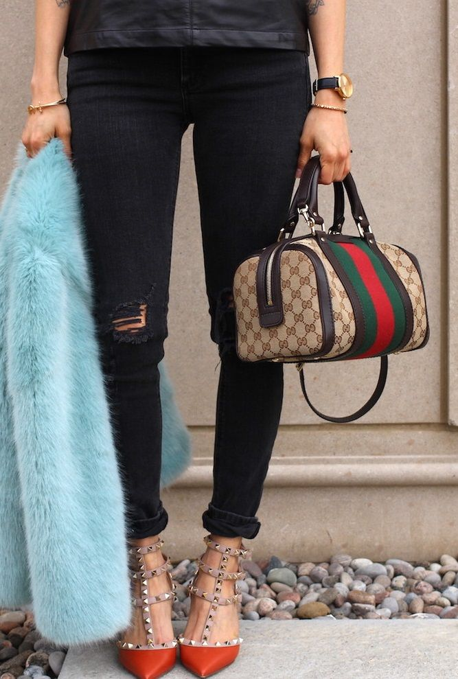 Gucci Classic Monogram Boston Bag now available for sale at www.lovethatbag.ca