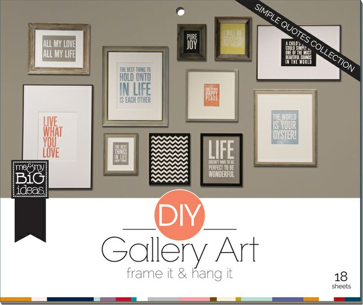 Diy gallery art pads love life room pad that makes it so easy to make