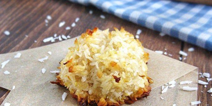 Chewy Quinoa Macaroons